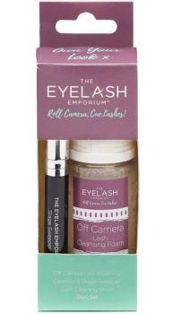 Eyelash Emporium Off Camera Cleanser & Brush Duo