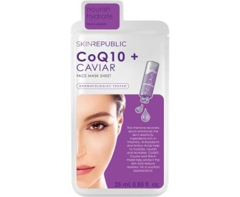 Skin Republic CoQ10+Caviar Face Mask Sheet