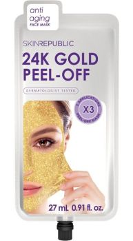 Skin Republic 24K Gold Peel Off Face Mask 3 Applications