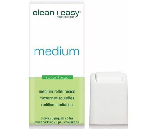 Clean & Easy Roller Heads Medium 3 Pack