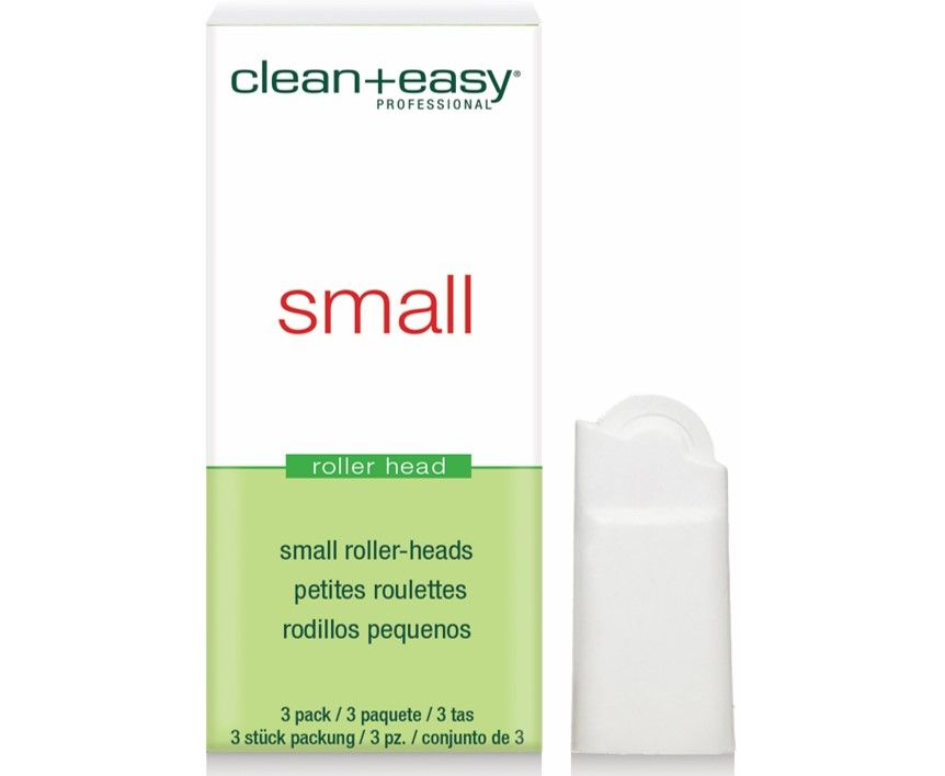 Clean & Easy Roller Heads Small 3 Pack