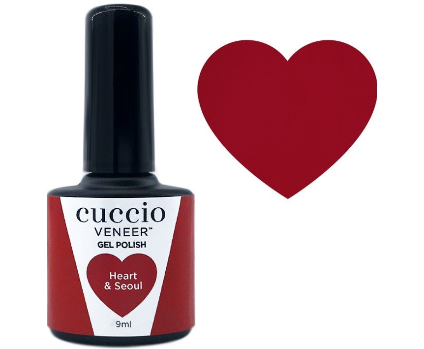 Cuccio Gel Heart & Seoul 9ml
