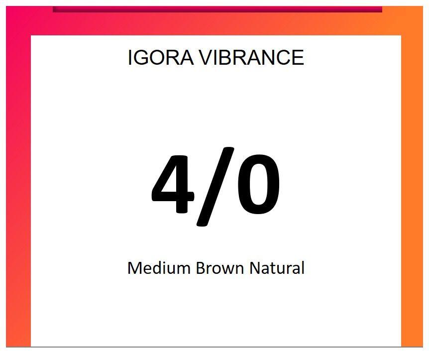 Igora Vibrance 60ml 4/0