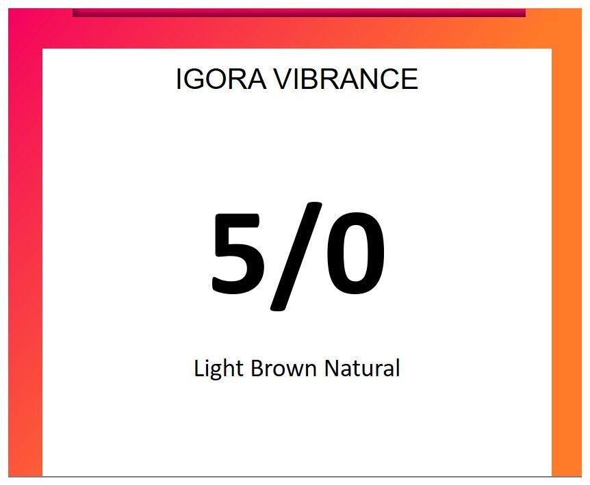 Igora Vibrance 60ml 5/0