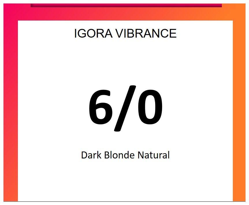 Igora Vibrance 60ml 6/0