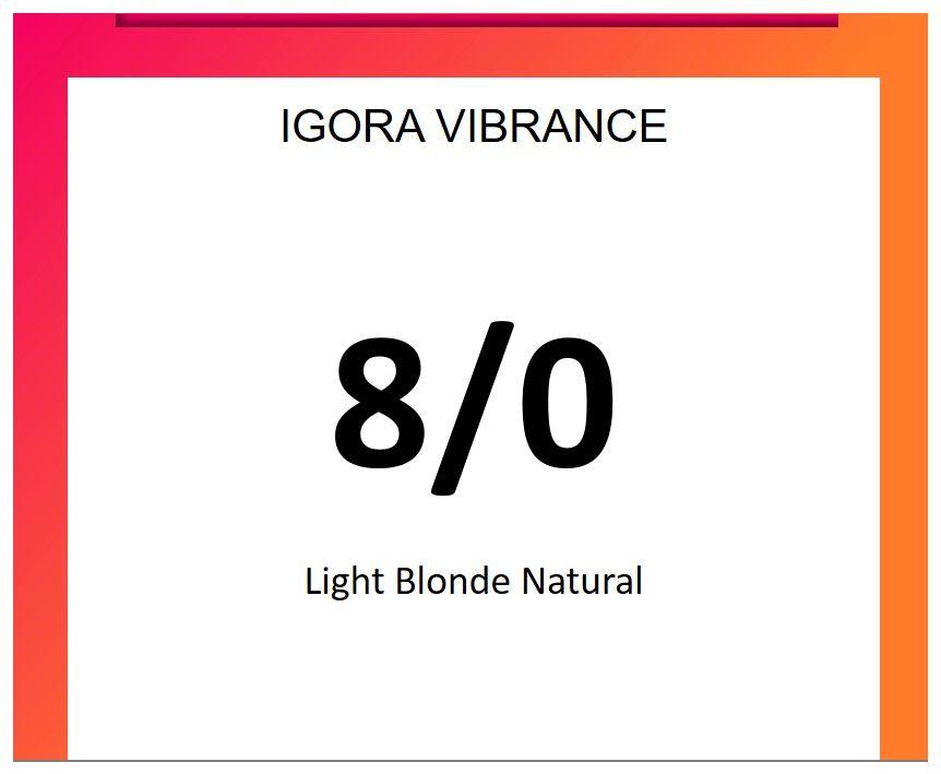 Igora Vibrance 60ml 8/0