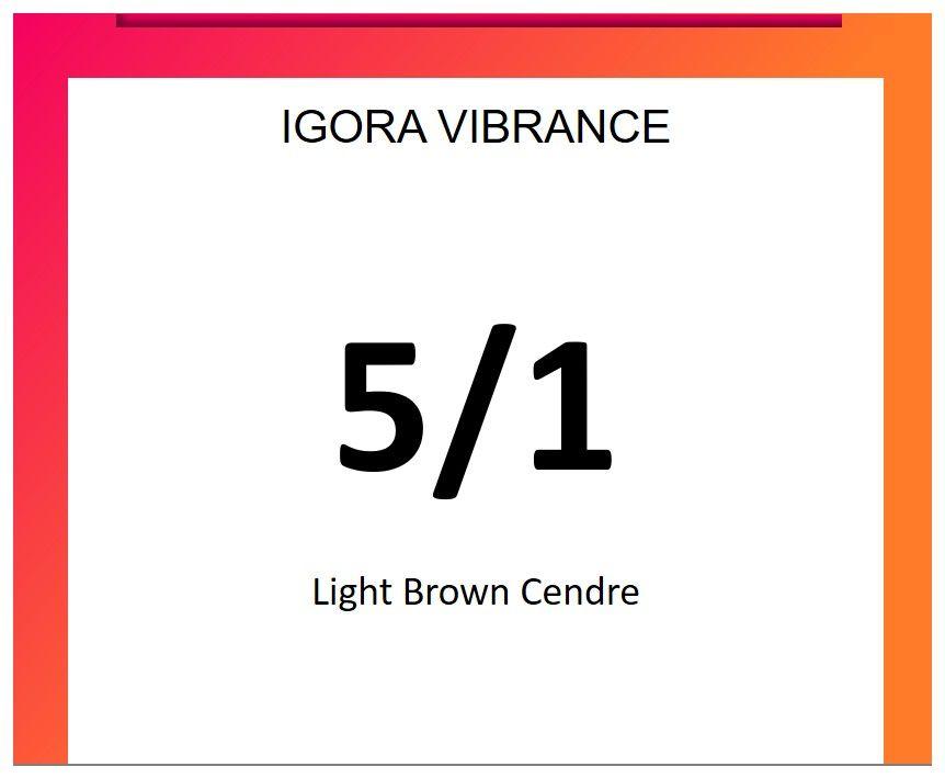 Igora Vibrance 60ml 5/1