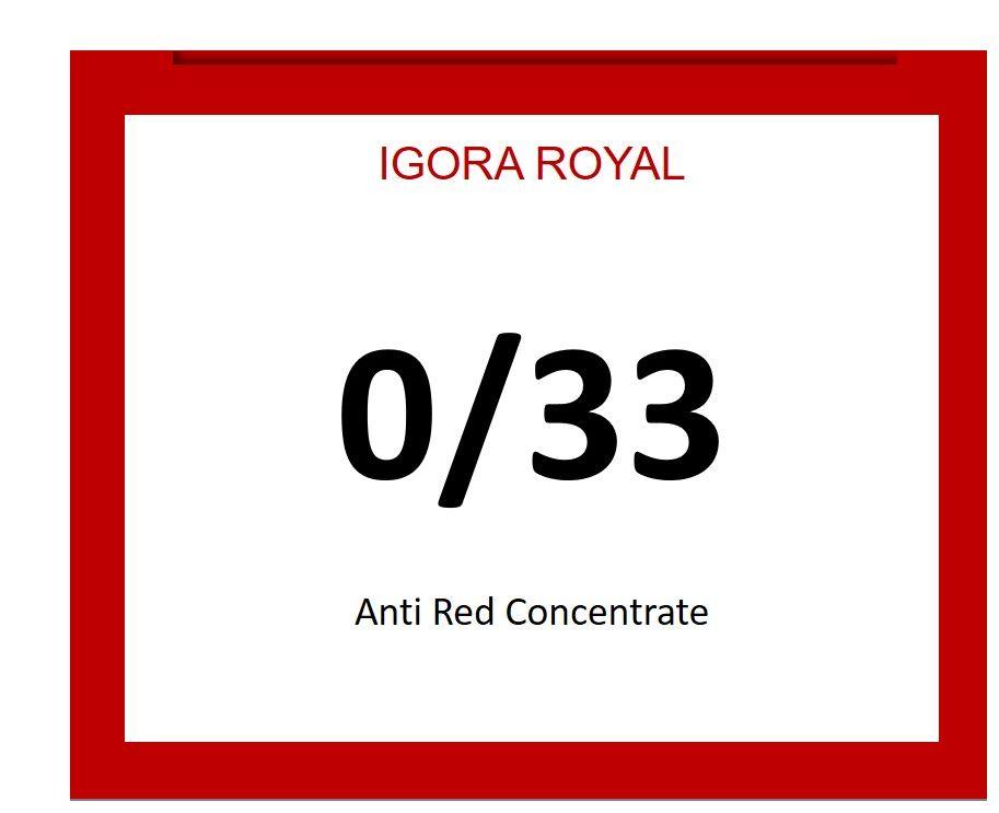 Igora Royal 60ml 0/33
