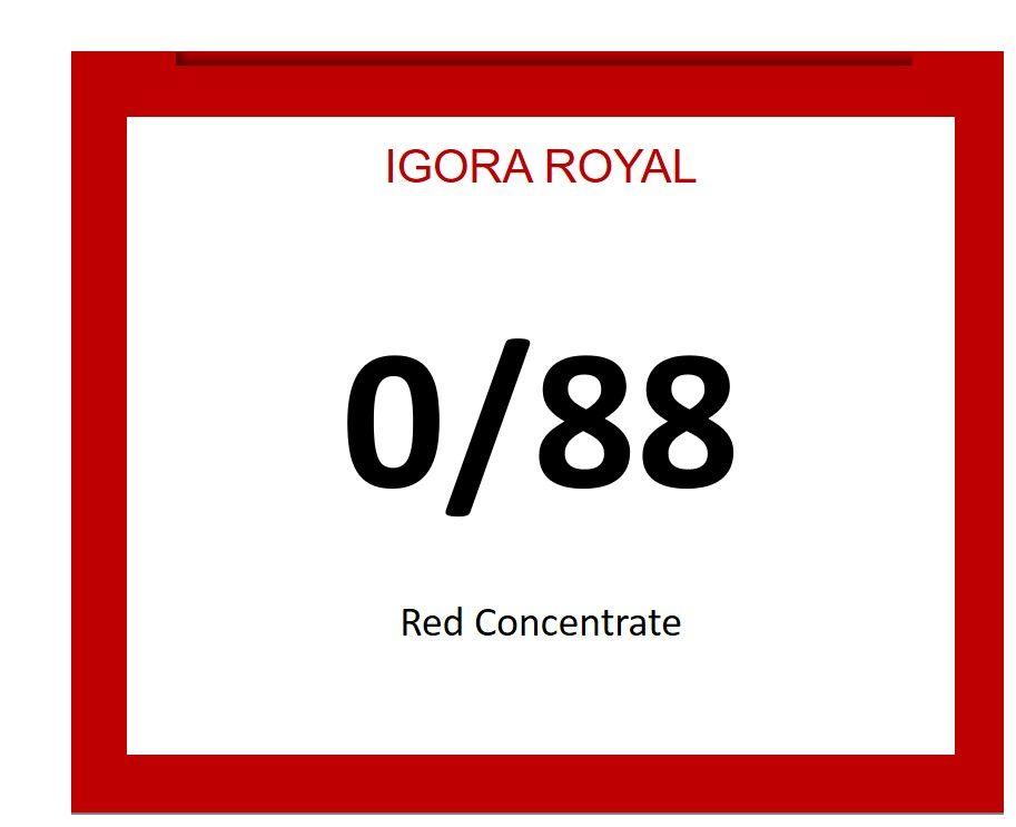 Igora Royal 60ml 0/88