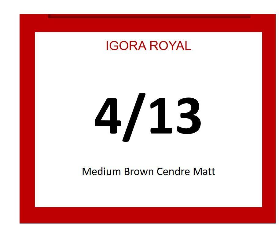 Igora Royal 60ml 4/13