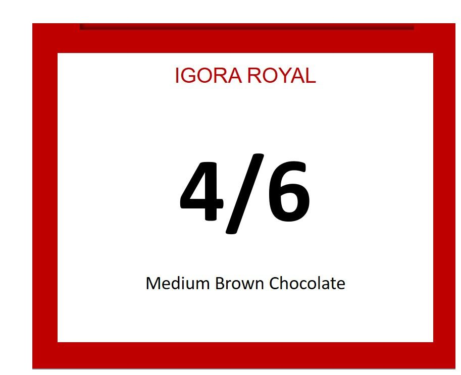Igora Royal 60ml 4/6