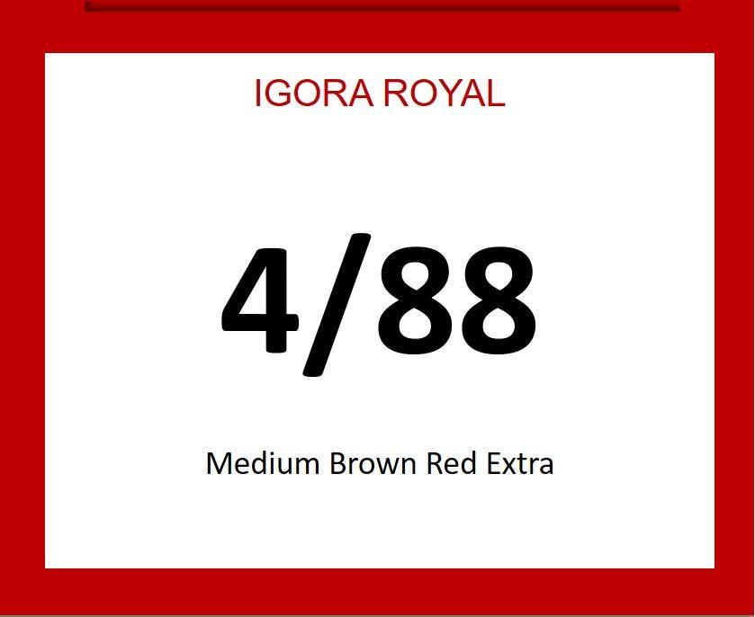 Igora Royal 60ml 4/88