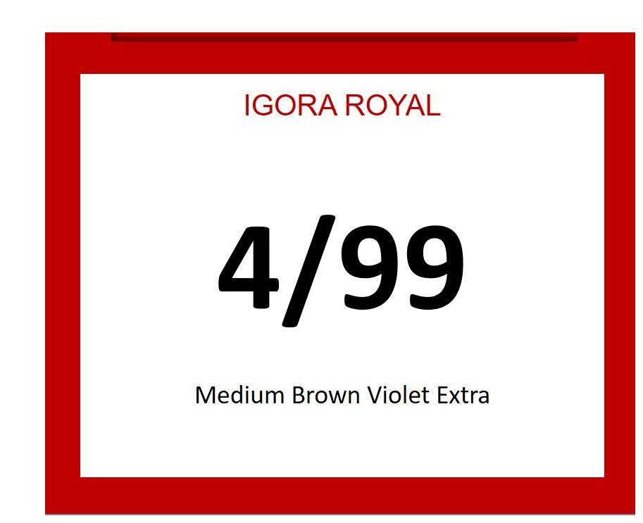 Igora Royal 60ml 4/99