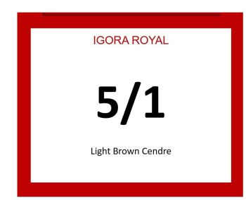 Igora Royal 60ml 5/1
