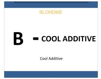 Blond Me  Bleach & Tone Cool Additive 60ml