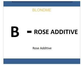 Blond Me Bleach & Tone Rose Additive 60ml