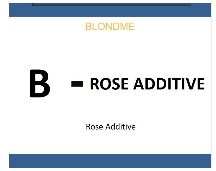 Blond Me Bleach & Tone Rose Additive 60ml