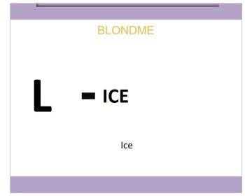 Blond Me Blonde Lifting Ice 60ml