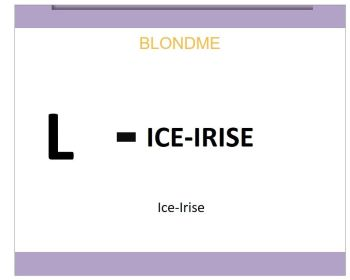 Blond Me Blonde Lifting Ice-Irise 60ml