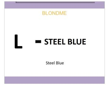 Blond Me Blonde Lifting Steel Blue 60ml