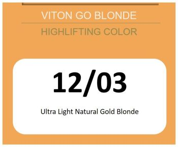 Viton Go Blonde 60ml 12/03