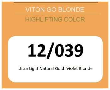 Viton Go Blonde 60ml 12/039