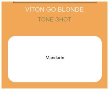 Viton Go Blonde 60ml Mandarin