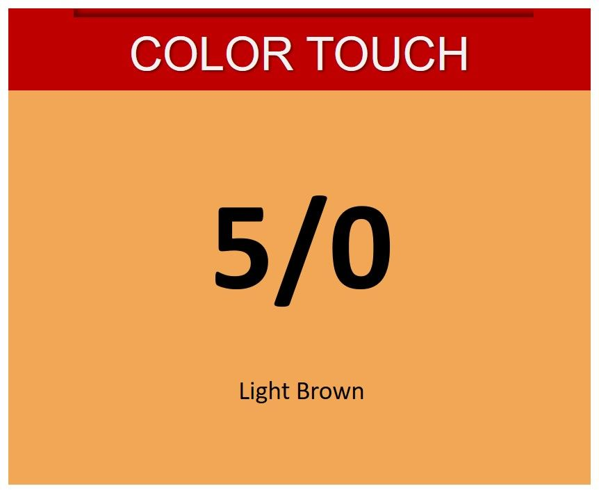 Color Touch 60ml 5/0