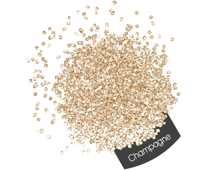Halo Create Micro Crystals 1440 Pack Champagne