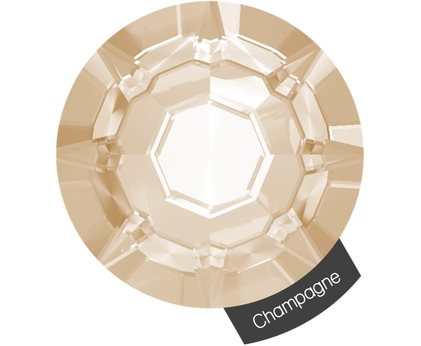 Halo Create Size 2 Crystals 288 Pack Champagne
