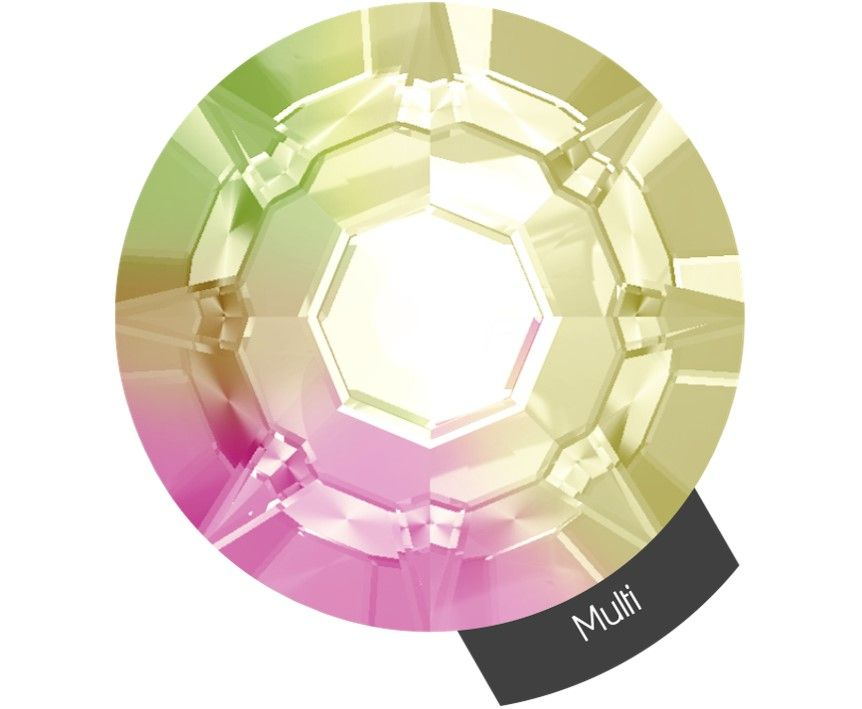 Halo Create Size 2 Crystals 288 Pack Multi Colour