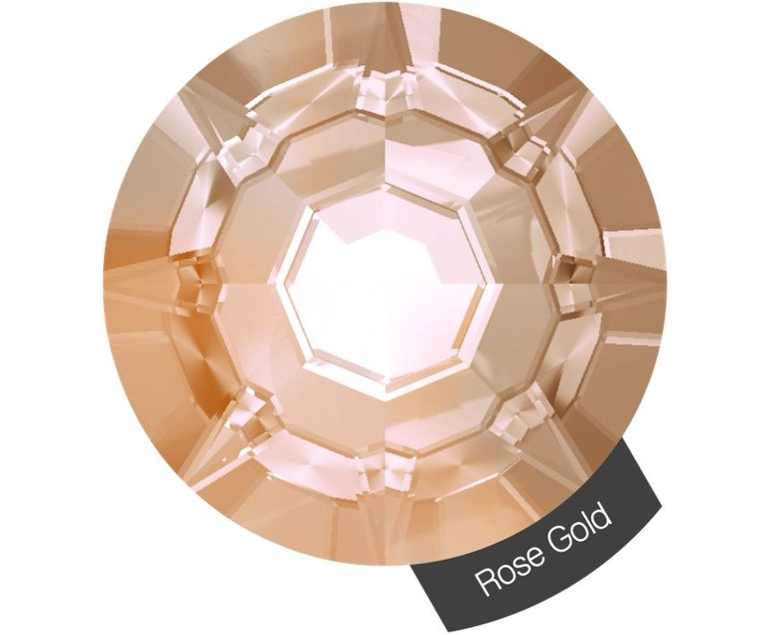 Halo Create Size 2 Crystals 288 Pack Rose Gold