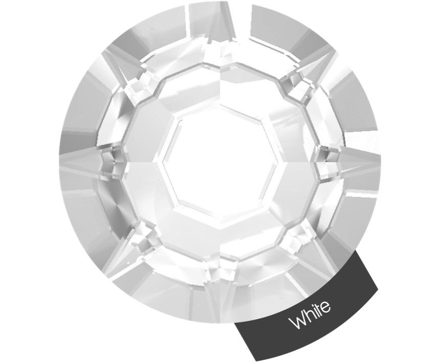 Halo Create Size 2 Crystals 288 Pack White
