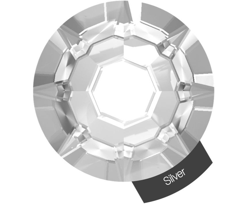 Halo Create Size 2 Crystals 288 Pack Silver