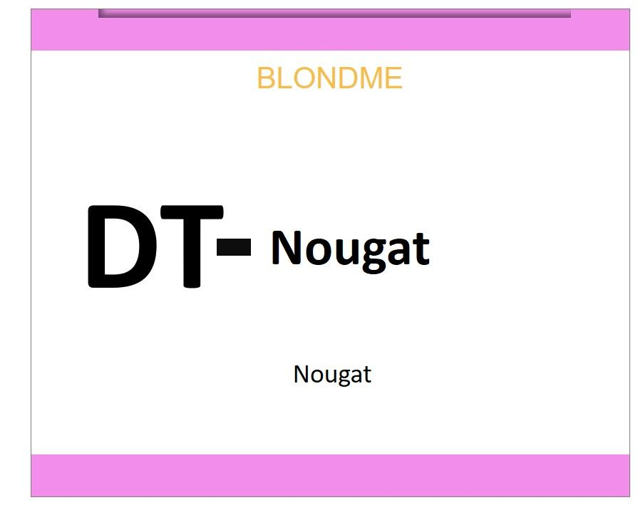 Blond Me Blonde Deep Toning Nougat 60ml