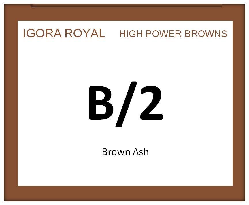 Igora Royal High Power Browns 60ml B/2