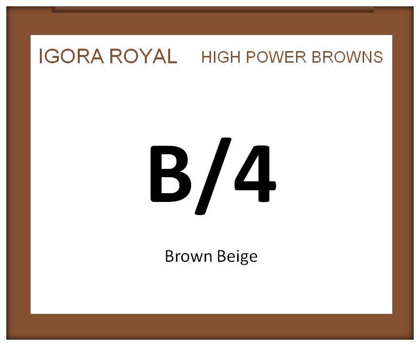 Igora Royal High Power Browns 60ml B/4