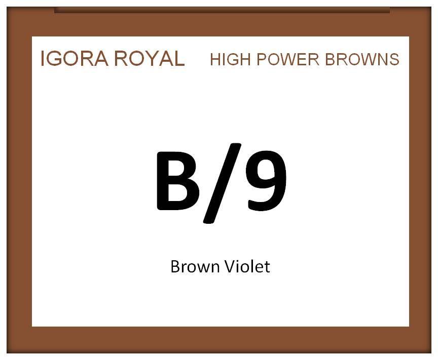 Igora Royal High Power Browns 60ml B/9