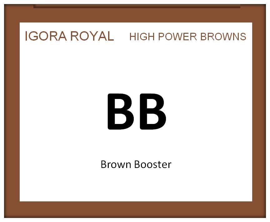 Igora Royal High Power Browns 60ml BB