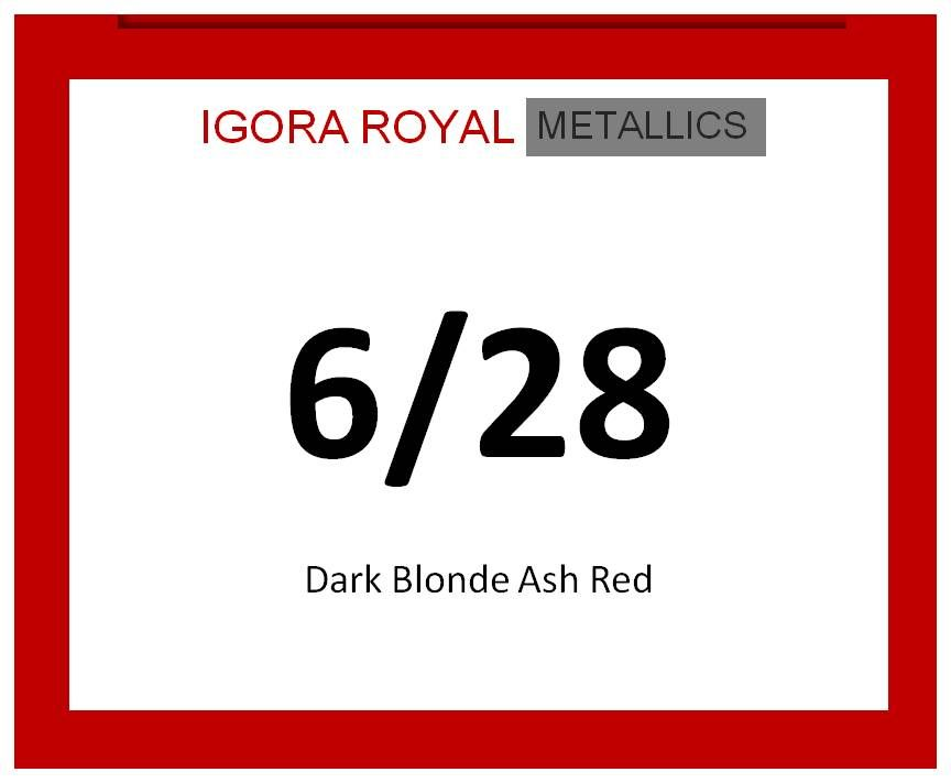 Igora Royal Metallics 60ml 6/28