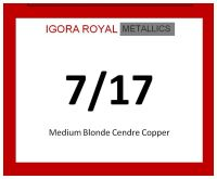 Igora Royal Metallics 60ml 7/17