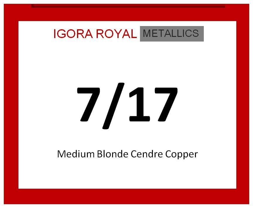Igora Royal Metallics 60ml 7/17