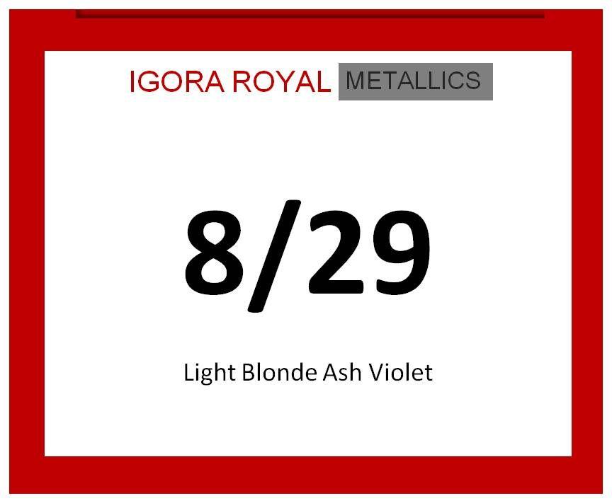 Igora Royal Metallics 60ml 8/29