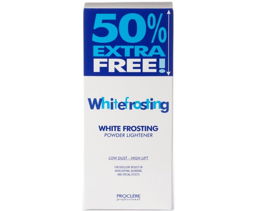 White Frosting Lightener 500g