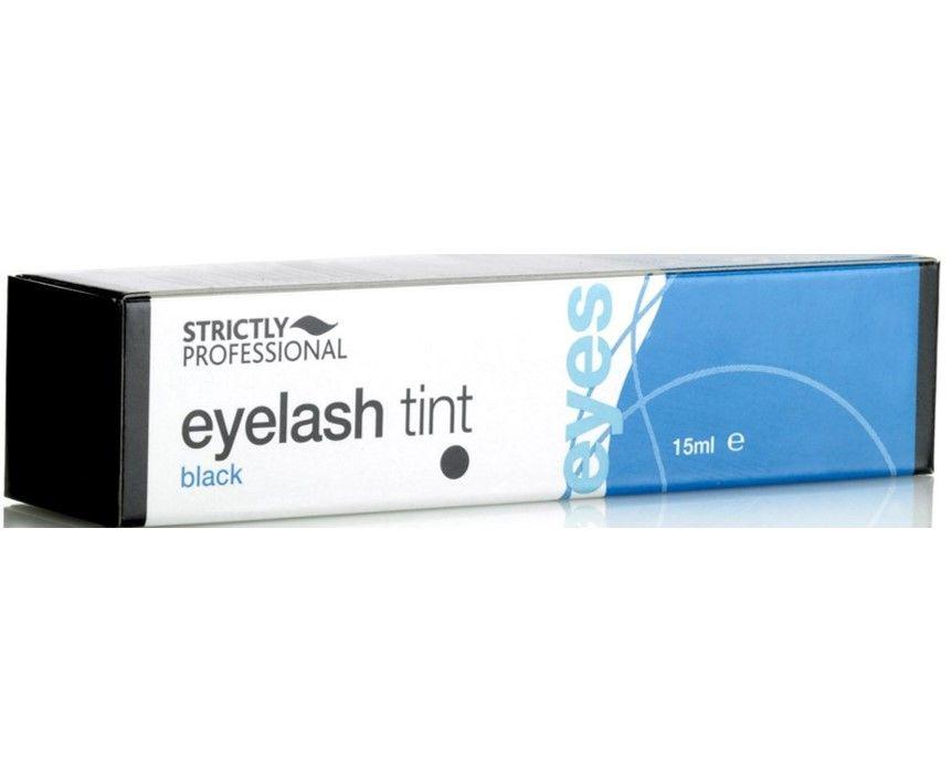 Strictly Professional Eyelash Tint Black 15ml