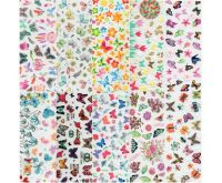 Halo Create Nail Foil Transfers Butterflies 10 Pack
