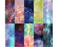 Halo Create Nail Foil Transfers Galaxy 10 Pack