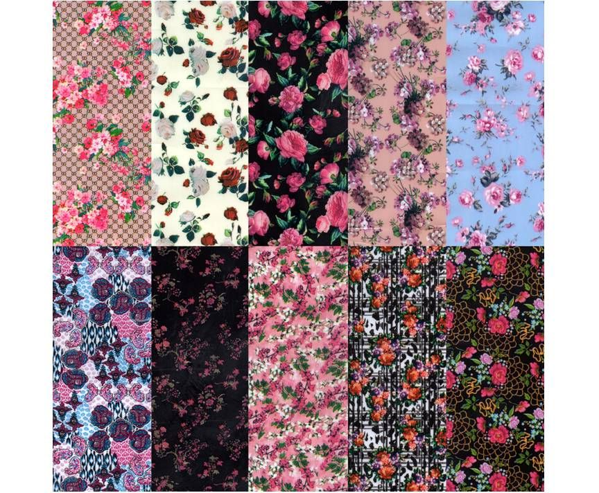 Halo Create Nail Foil Transfers Roses 10 Pack