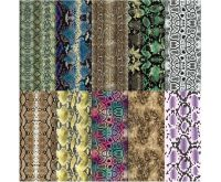 Halo Create Nail Foil Transfers Snakeskin 10 Pack
