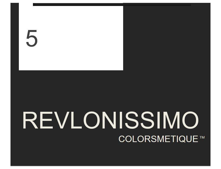 Revlonissimo  High Coverage 60ml 5